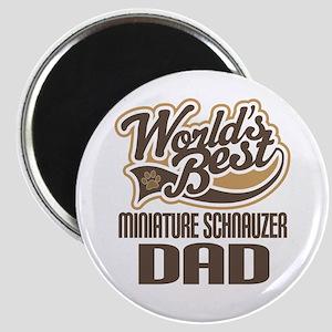 Miniature Schnauzer Dad Magnet
