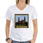 Greensburg Indiana Women's V-Neck T-Shirt