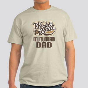 Newfoundland Dad Dog Gift Light T-Shirt