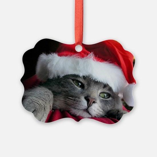 Cute Kitten Ornament