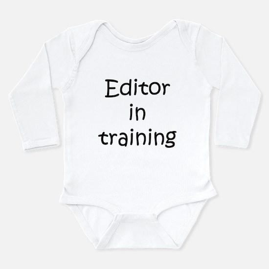 Editor in training Body Suit