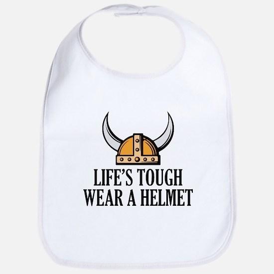 Wear A Helmet Bib