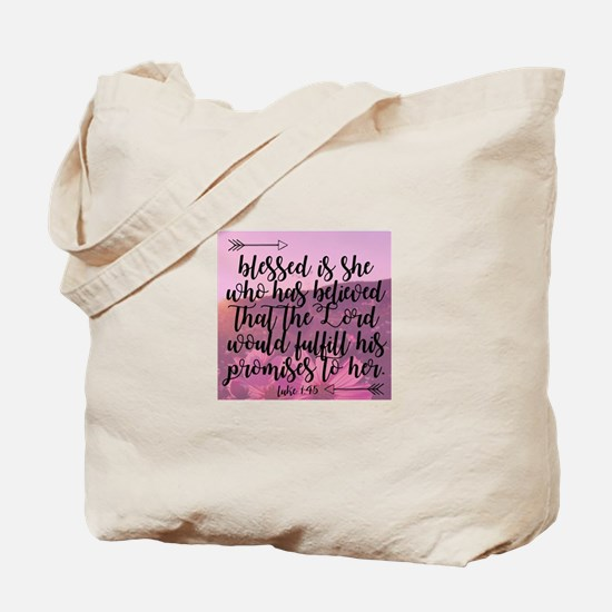 Blessed is She Tote Bag