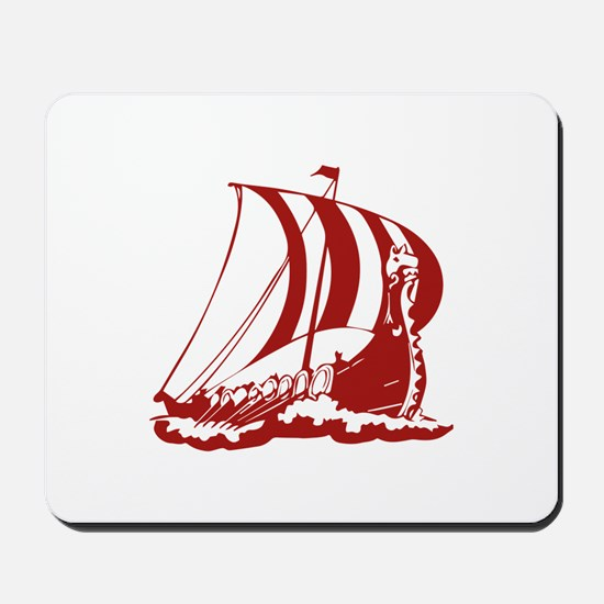 Viking Ship Mousepad