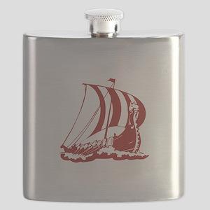 Viking Ship Flask