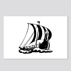 Viking Ship Postcards (Package of 8)