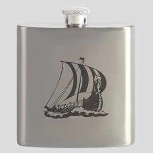 Viking Ship Flask