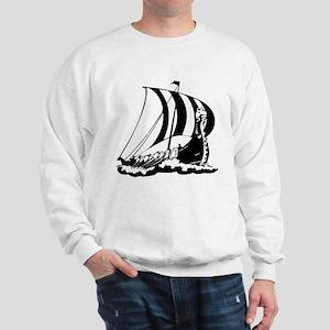 Viking Ship Sweatshirt