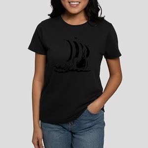 Viking Ship Women's Dark T-Shirt
