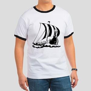 Viking Ship Ringer T