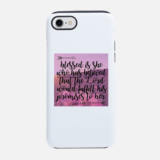 Blessed is She iPhone 7 Tough Case