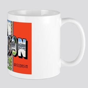 Madison Wisconsin Greetings Mug