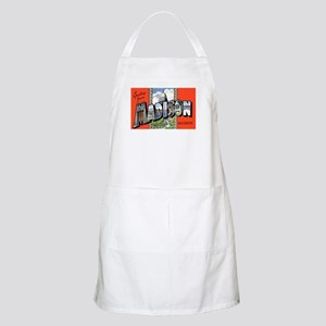 Madison Wisconsin Greetings BBQ Apron