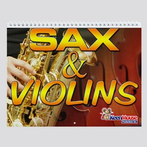 Sax and Violins Calendar