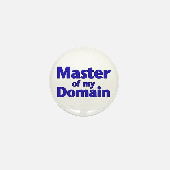 Master of my Domain - Mini Button