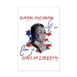 Haym Solomon Mini Poster Print