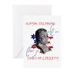 Haym Solomon Greeting Cards (Pk of 10)