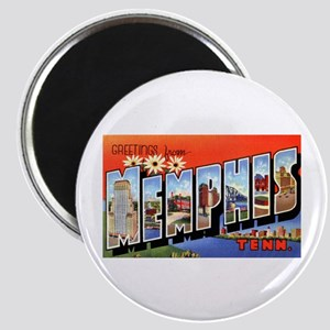 Memphis Tennessee Greetings Magnet