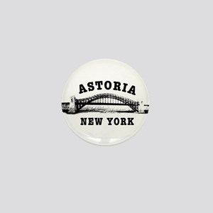 Astoria Hellgate Bridge Mini Button