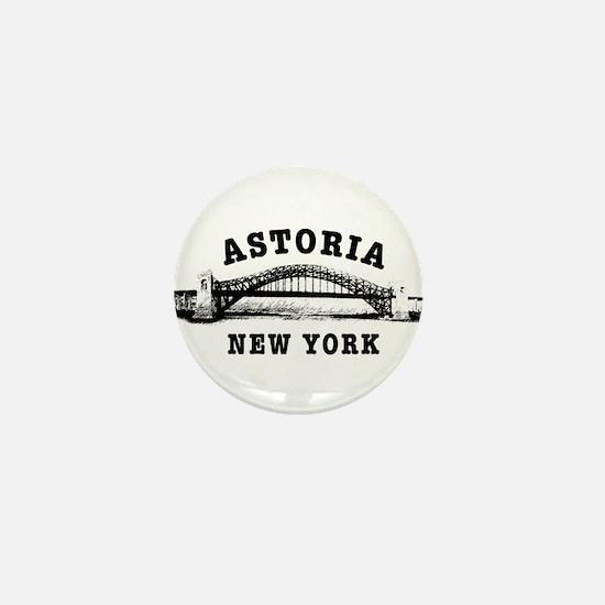 Astoria Hellgate Bridge Mini Button