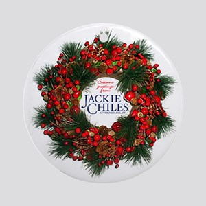Jackie Chiles - Holiday Wreath Ornament