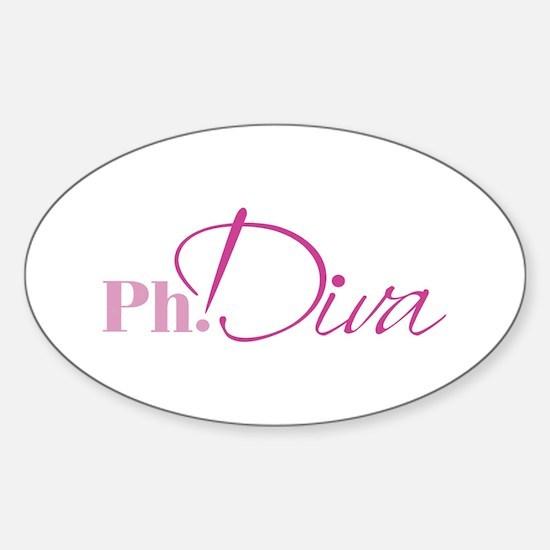 PhDiva Decal (Rectangular) Decal