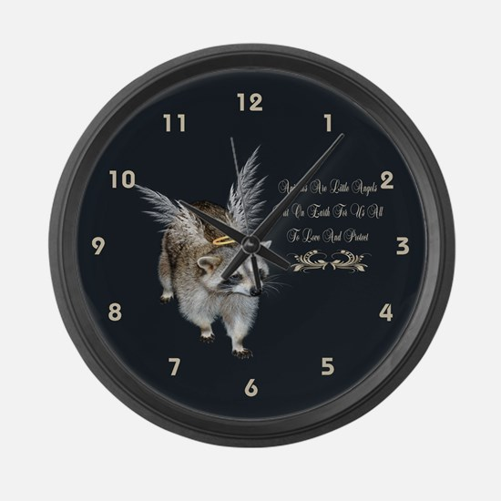 Animals Are Little Angels Large Wall Clock
