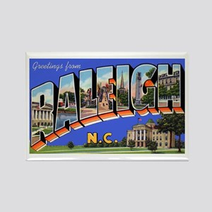Raleigh North Carolina Greetings Rectangle Magnet