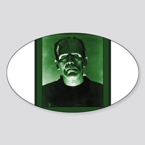 Frankenstein Sticker (Oval)