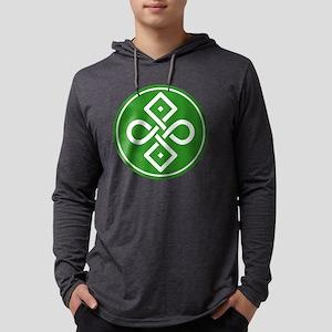 Celtic Tattoo Mens Hooded Shirt