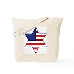 American Star of David Tote Bag