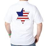 American Star of David Golf Shirt