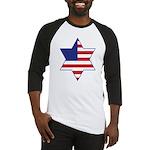 American Star of David Baseball Jersey