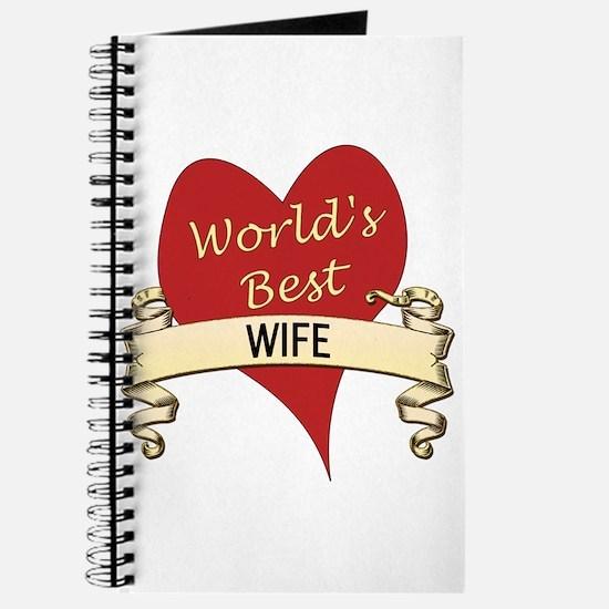 Cute Greatest wife Journal