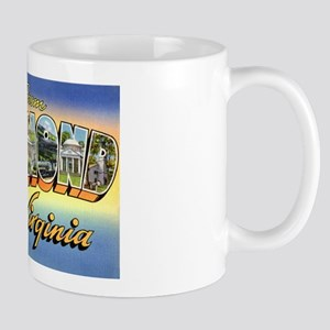 Richmond Virginia Greetings Mug