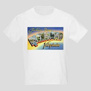 Richmond Virginia Greetings (Front) Kids T-Shirt