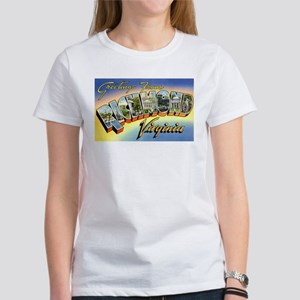 Richmond Virginia Greetings (Front) Women's T-Shir