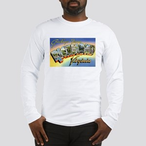 Richmond Virginia Greetings (Front) Long Sleeve T-
