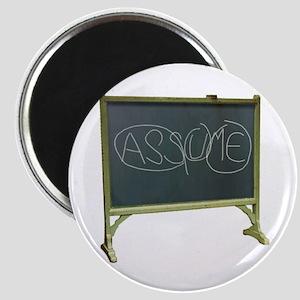 Never Assume - Magnet
