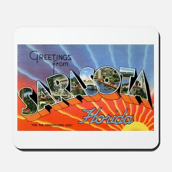 Sarasota Florida Greetings Mousepad