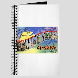 Tallahasse Florida Greetings Journal