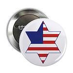 American Star of David Button