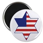 American Star of David Magnet