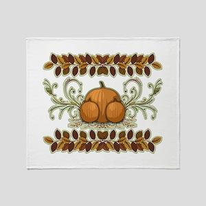 Autumn Bounty Throw Blanket