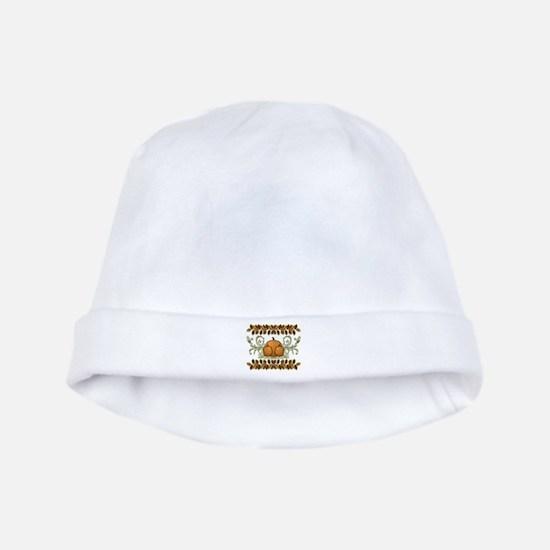 Autumn Bounty baby hat