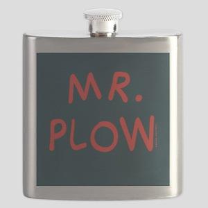 Mr Plow Flask