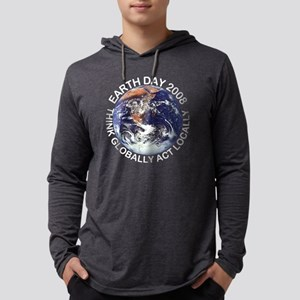 earth4108colored Mens Hooded Shirt