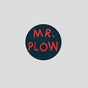 Mr Plow Mini Button