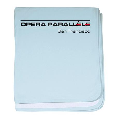 Opera Parallele Logo baby blanket