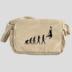 Basketball Evolution Jump Messenger Bag